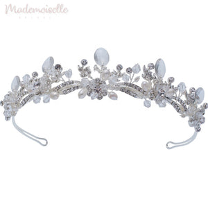 Crystal Clear Raised Tiara