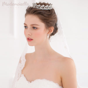 Pearl Regal Classic Crown Tiara