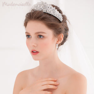 Crystal Beaded Princess Tiara