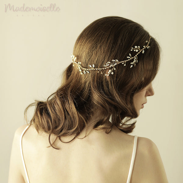 Crystal Chain Garden Hair Vine