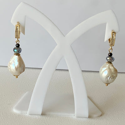 Baroque Drop Earrings