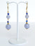 Blue Angelite Drop Earrings