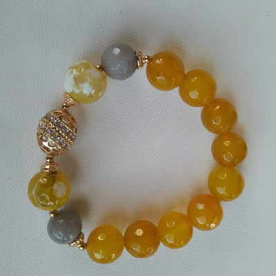 Darlia Gemstones Stretch Bracelet