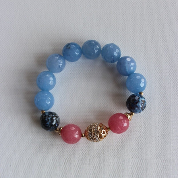 Darley Agate Gemstone Statement Bracelet