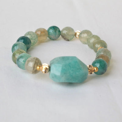 Dressie Gemstones Statement Bracelet