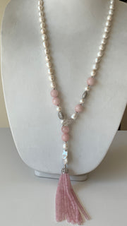 Pink Rosy Necklace