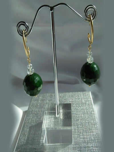 Evergreen Drop Earrings