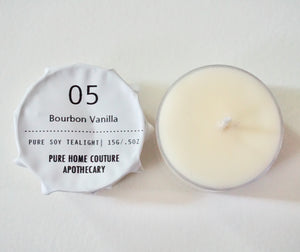 Tealight - Bourbon Vanilla No.05