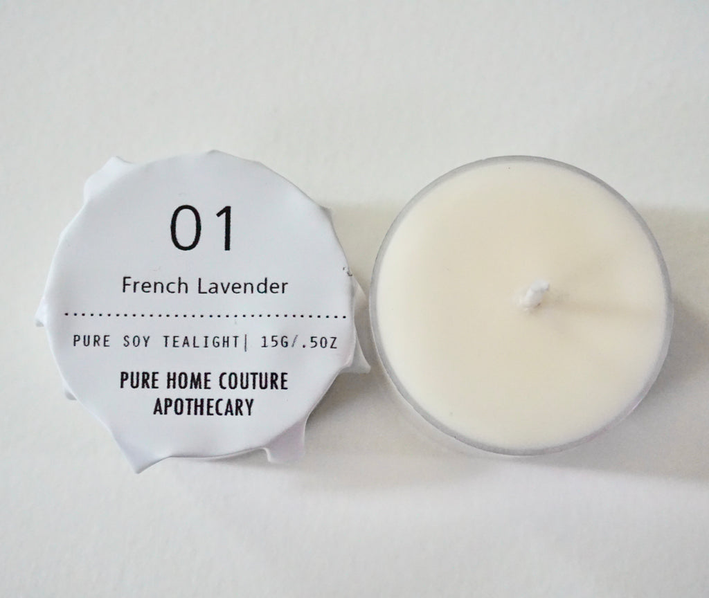 Tealight - French Lavender No.01