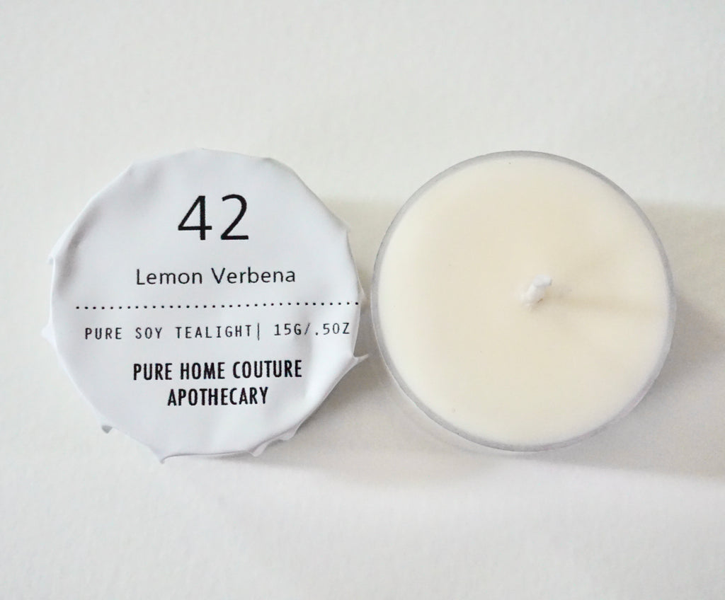 Tealight - Lemon Verbena No.42