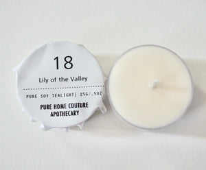 Tealight - Lily of the Valley No.18