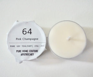 Tealight - Pink Champagne No.64