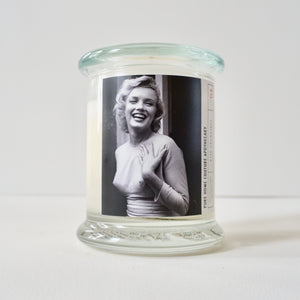 Couture Candle-Marilyn/white-Pink Champagne No.64