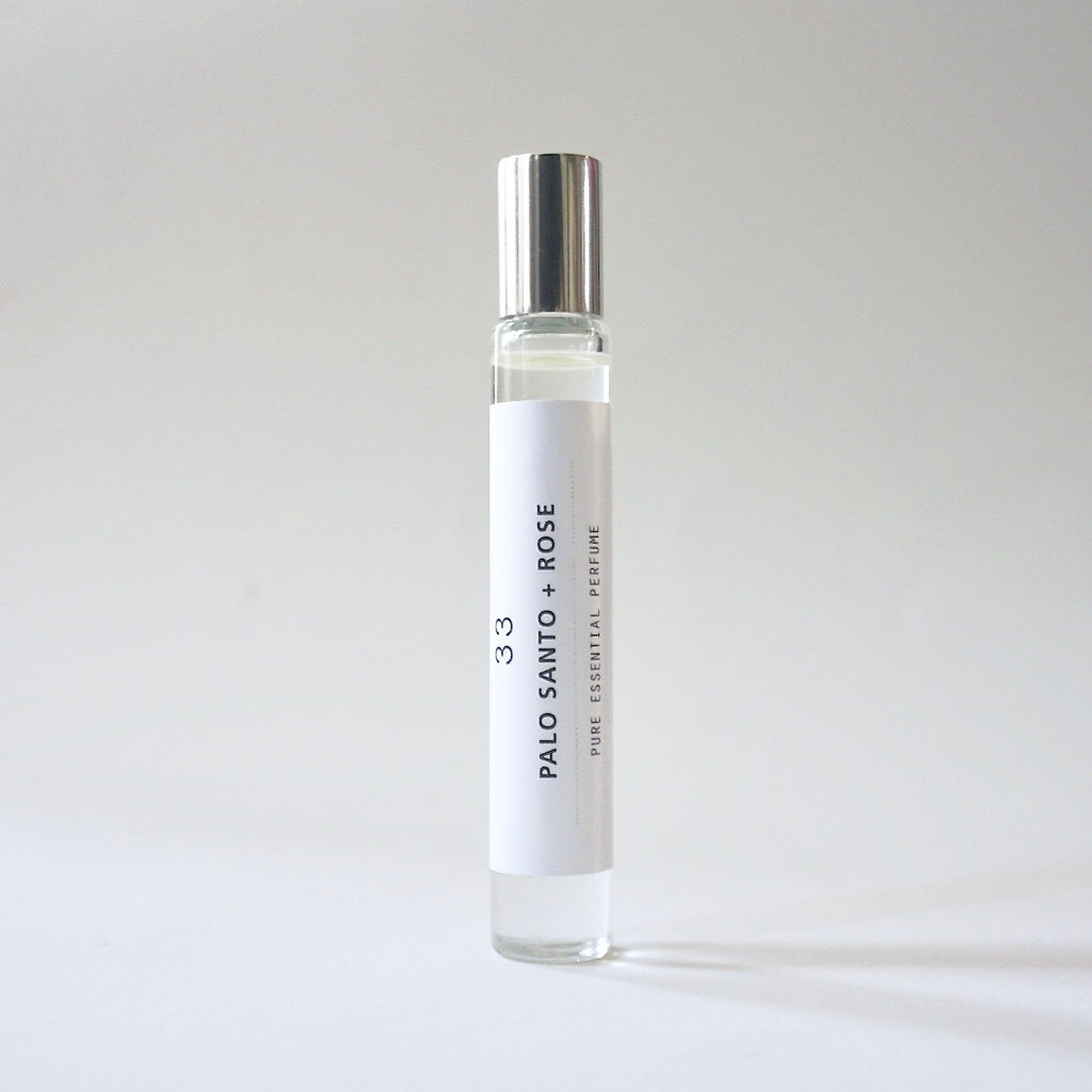 Roll-on Perfume - Palo Santo + Rose 33