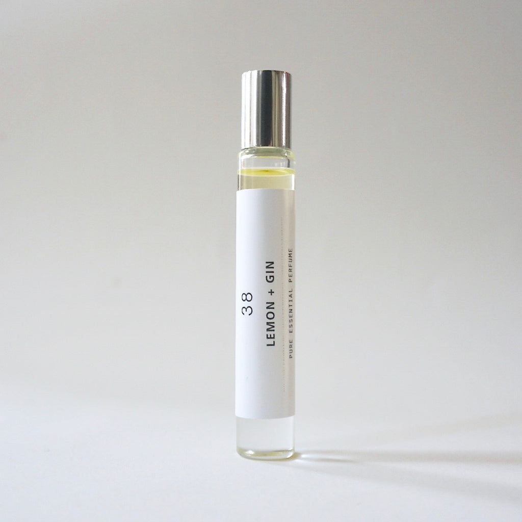 Roll-on Perfume - Lemon + Gin 38