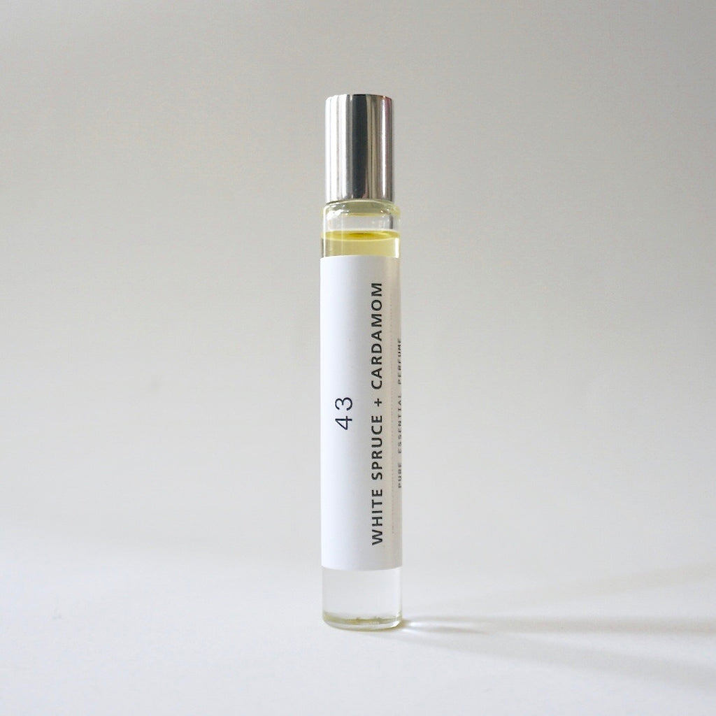 Roll-on Perfume - White Spruce + Cardamom 43