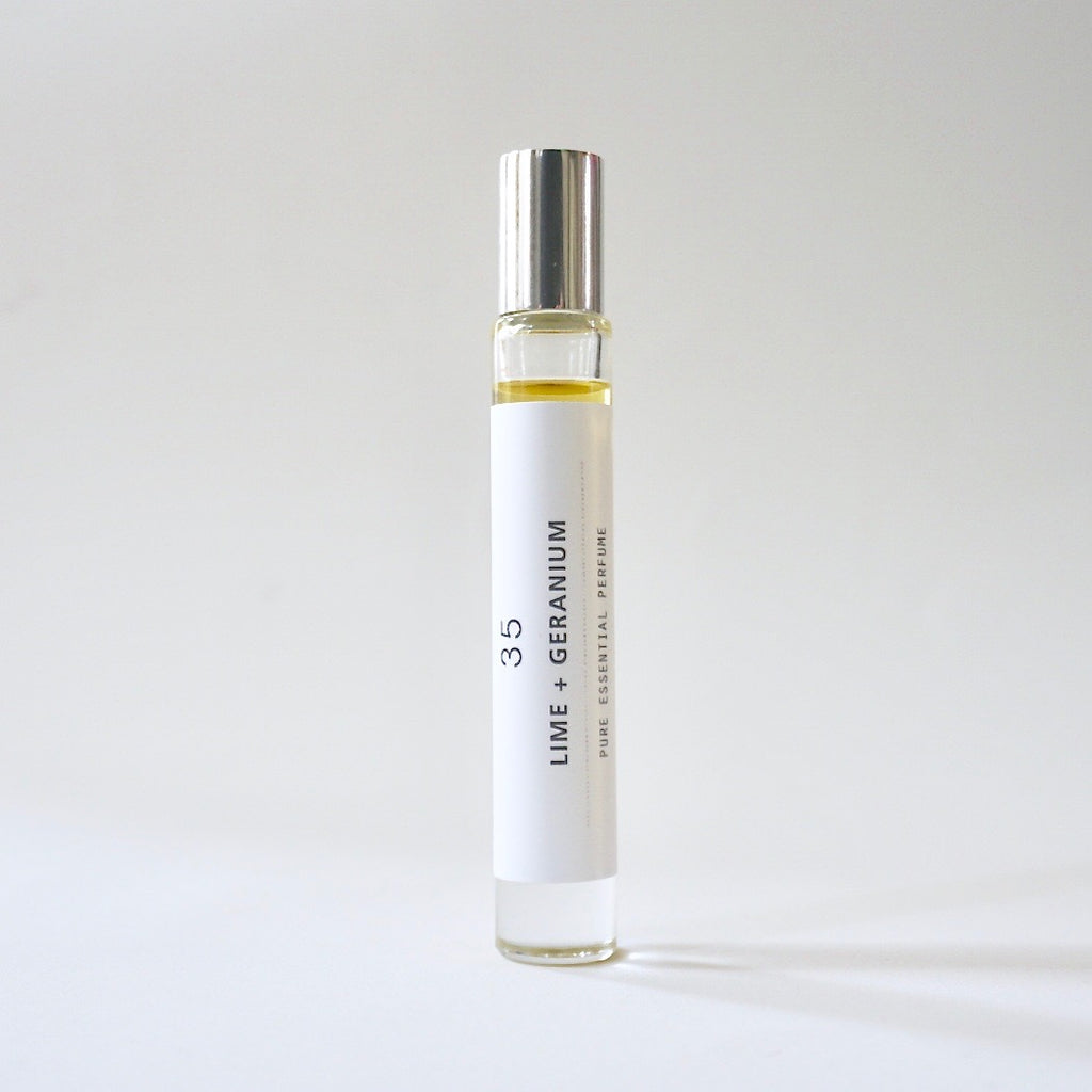Roll-on Perfume - Lime + Geranium 35