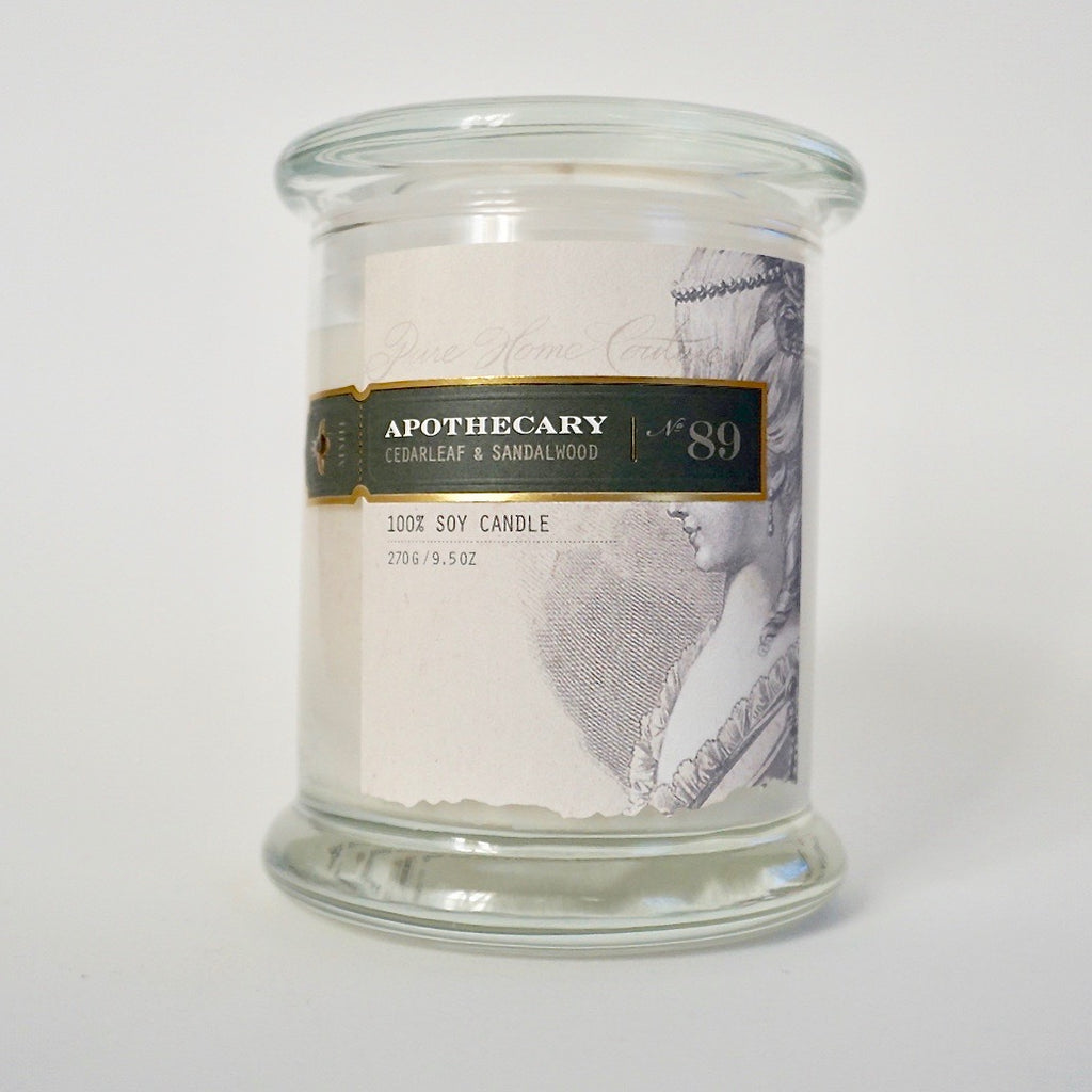 Everyday Candle - Cedarleaf & Sandalwood No.89