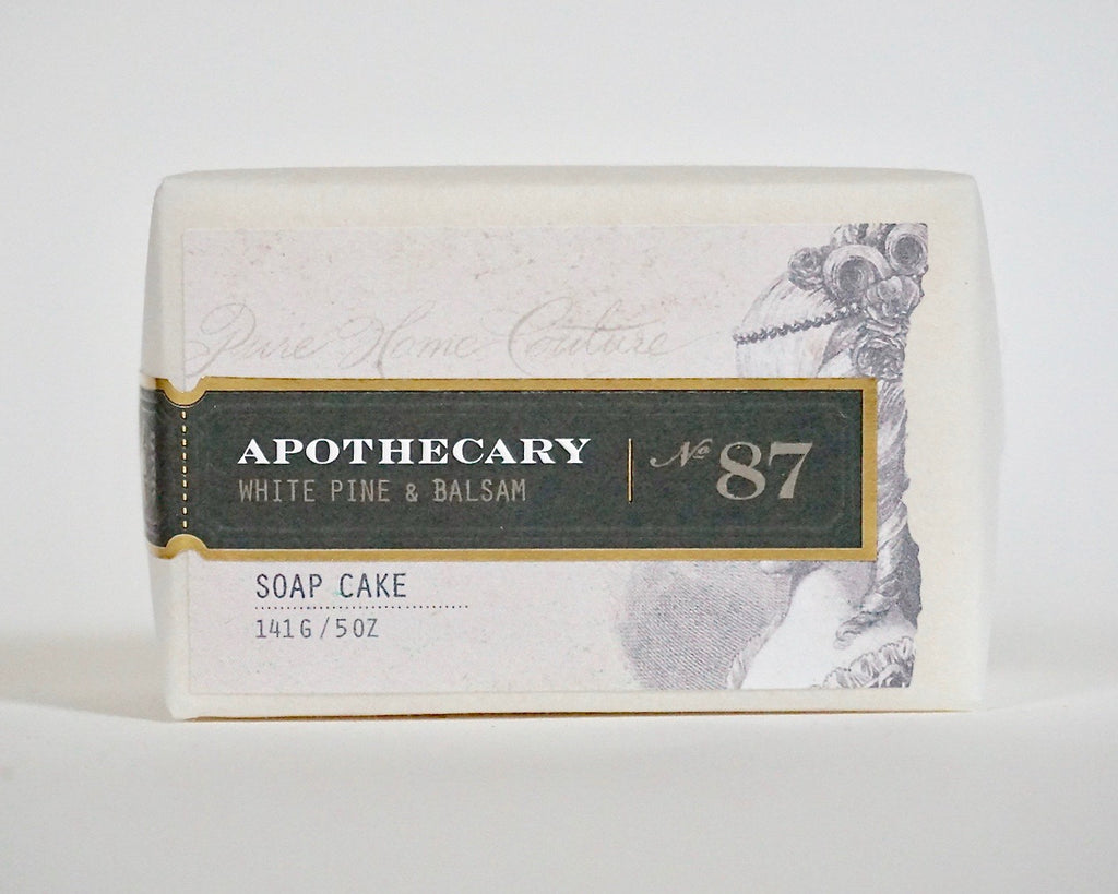 Bar Soap-White Pine & Balsam No.87