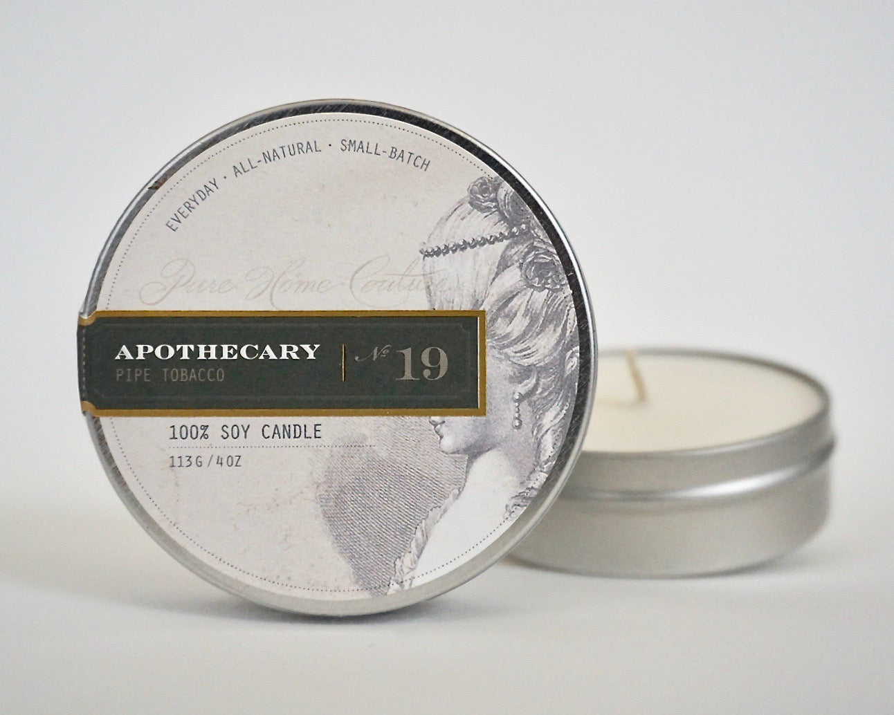 Everyday Tin Candle-Pipe Tobacco No.19