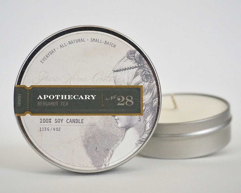 Everyday Tin Candle-Bergamot Tea No.28