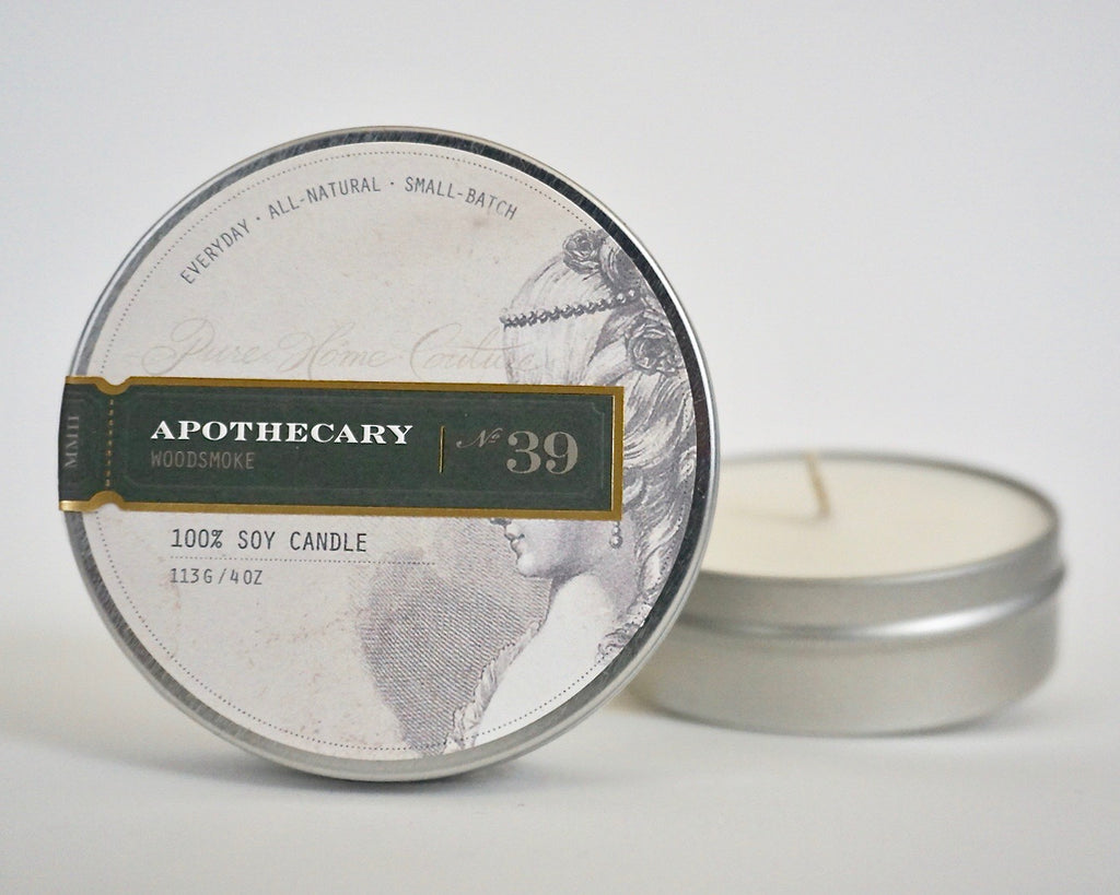 Everyday Tin Candle-Woodsmoke No.39