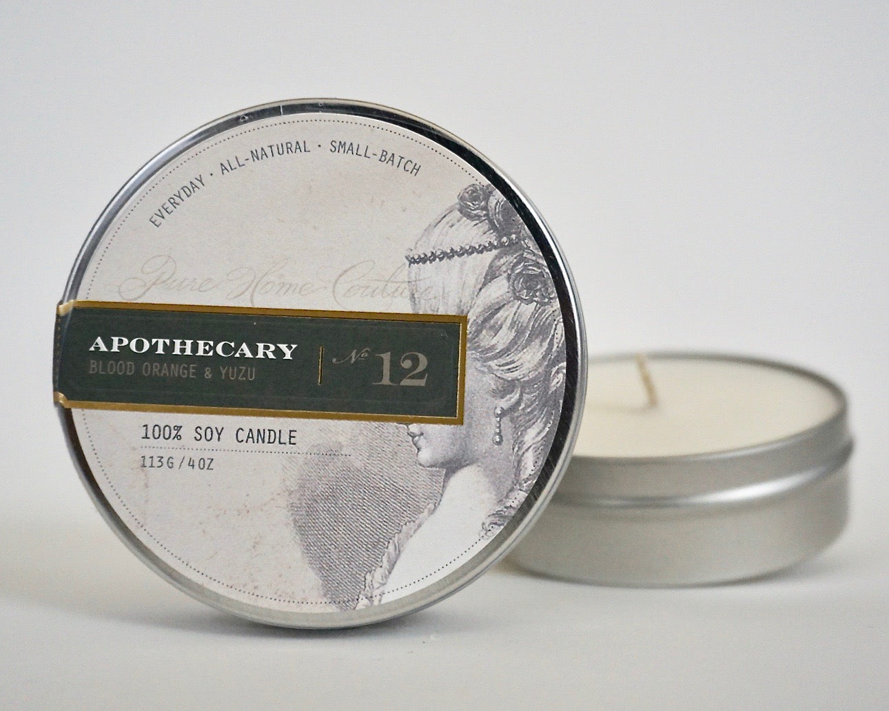 Everyday Tin Candle-Blood Orange & Yuzu No.12