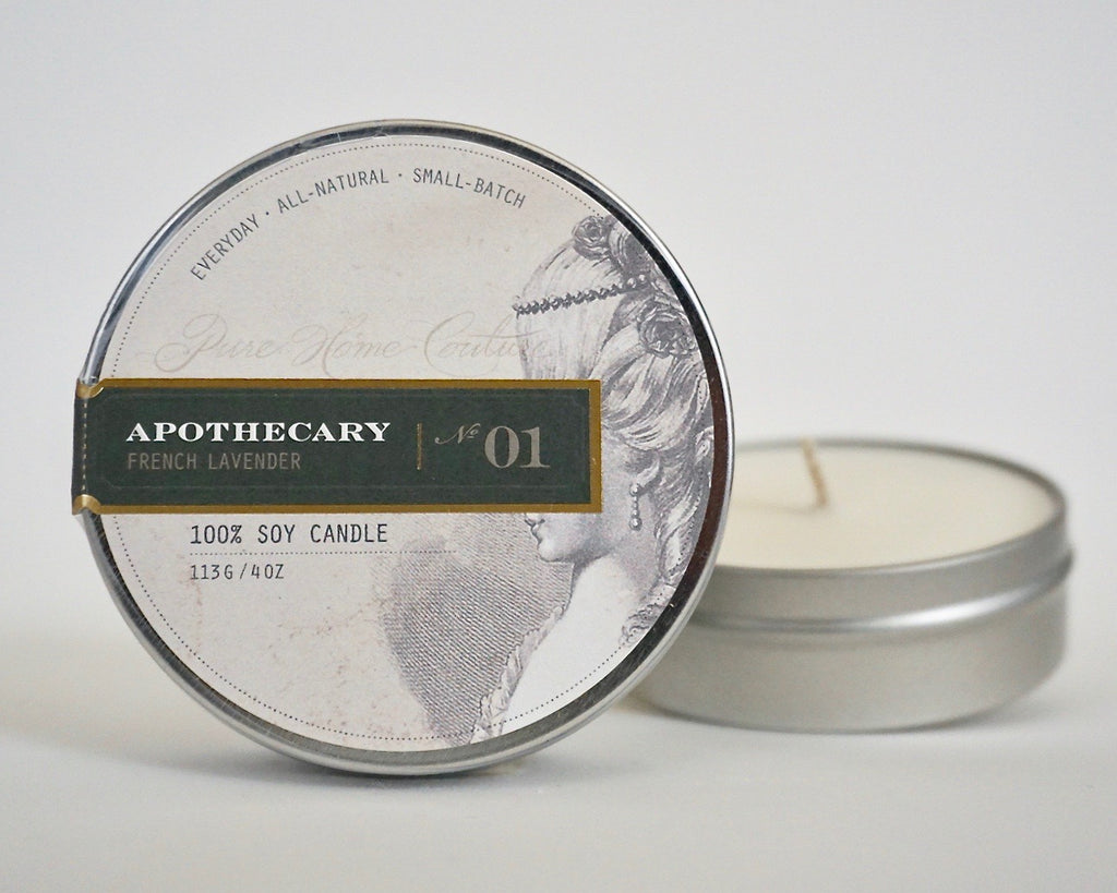 Everyday Tin Candle-French Lavender No.01