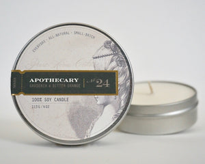 Everyday Tin Candle-Gardenia & Bitter Orange No.24