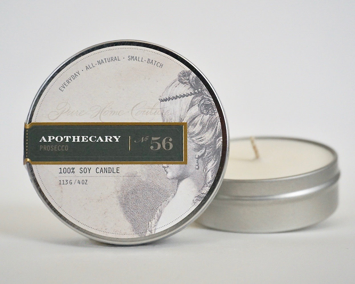 Everyday Tin Candle-Prosecco No.56