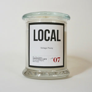 Local Candle-Vintage Peony No.07