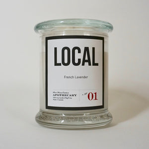 Local Candle-French Lavender No.01