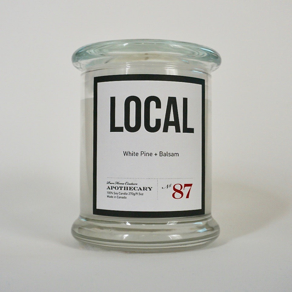 Local Candle-White Pine & Balsam No.87