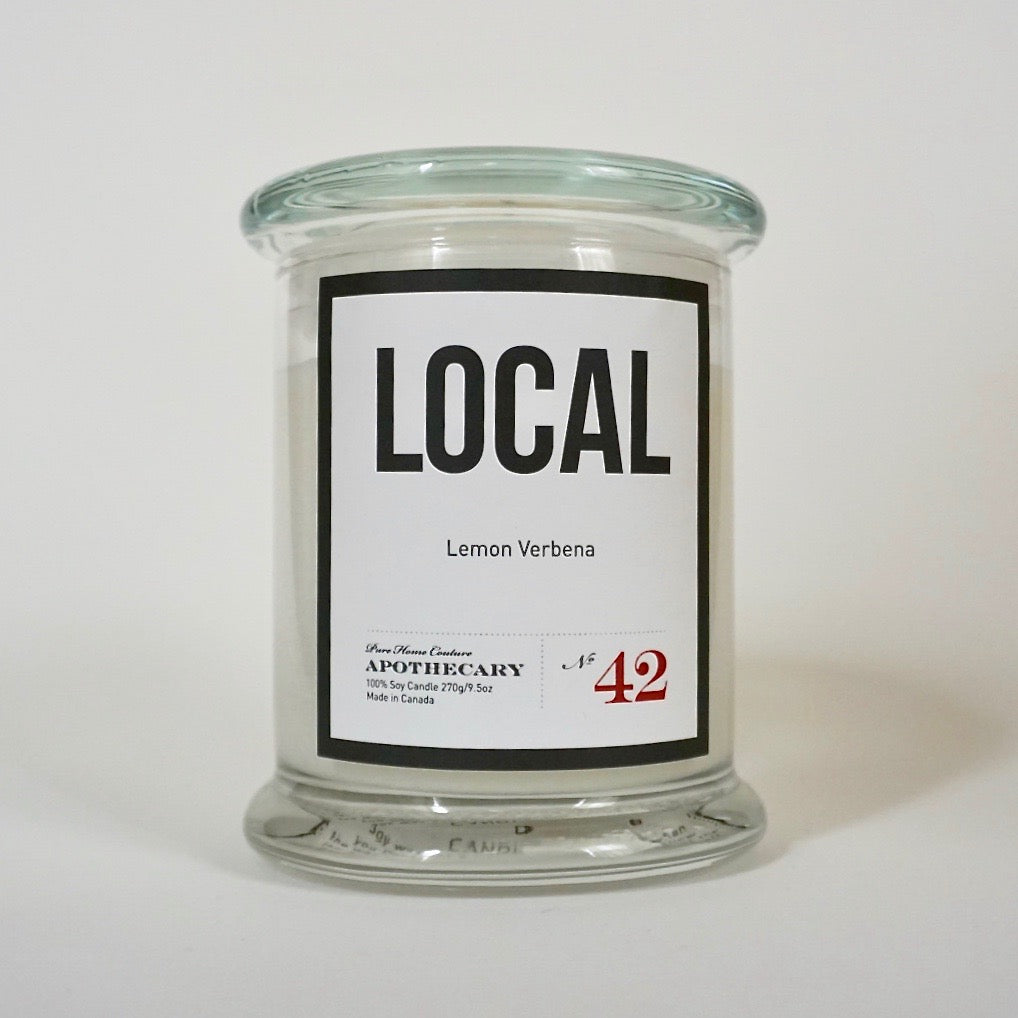 Local Candle-Lemon Verbena No.42