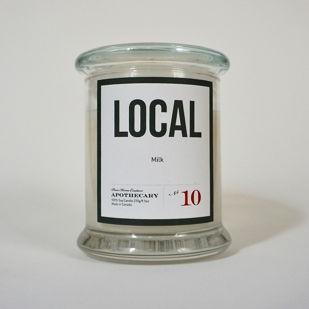 Local Candle-Milk No.10