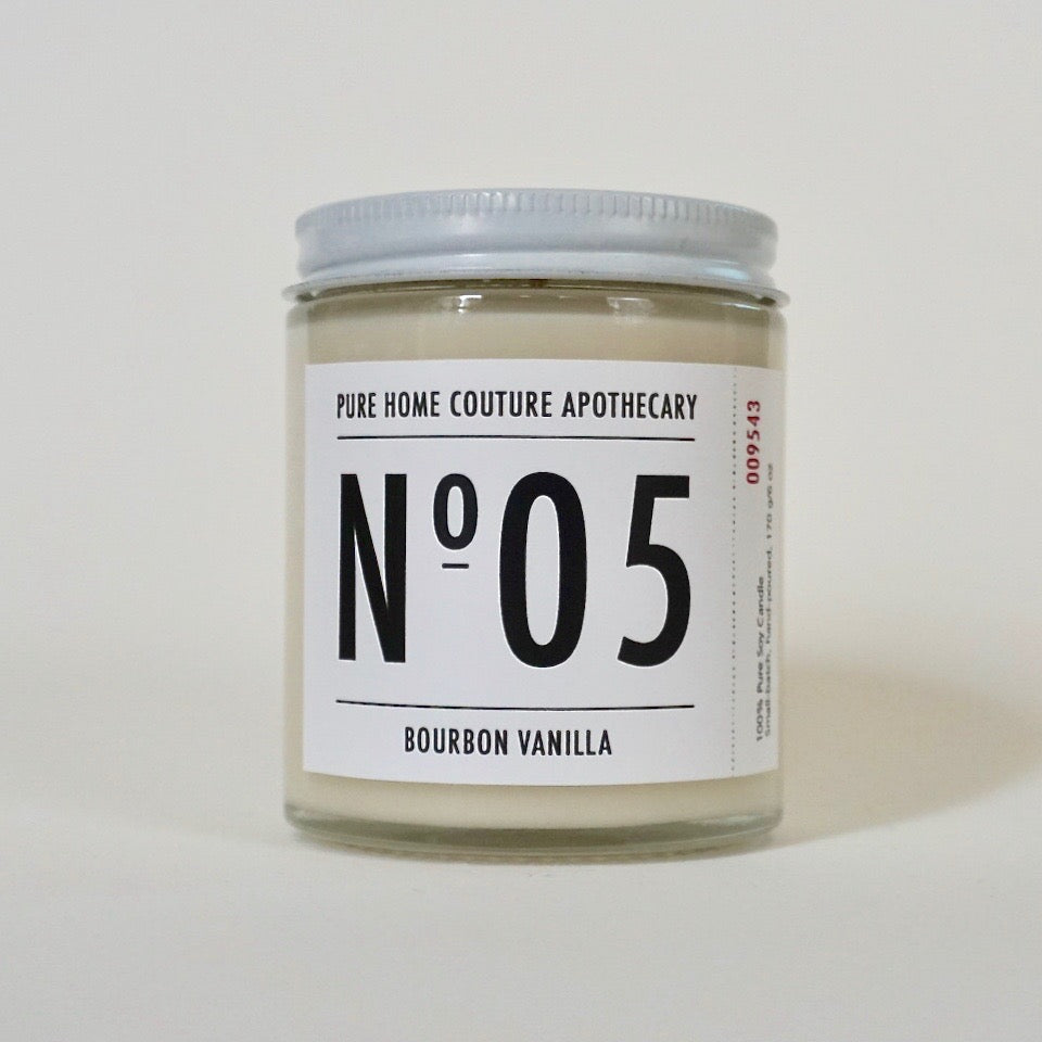 Number Candle-Bourbon Vanilla No.05