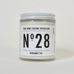 Number Candle-Bergamot Tea No.28