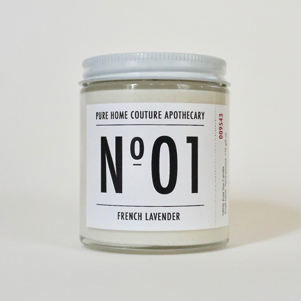 Number Candle-French Lavender No.01