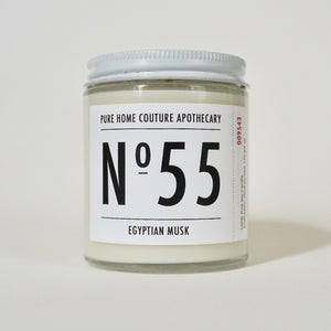 Number Candle-Egyptian Musk No.55