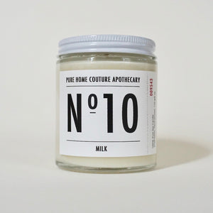Number Candle-Milk No.10