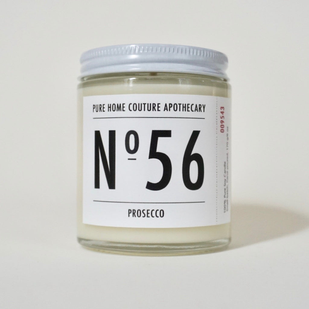 Number Candle-Prosecco No.56