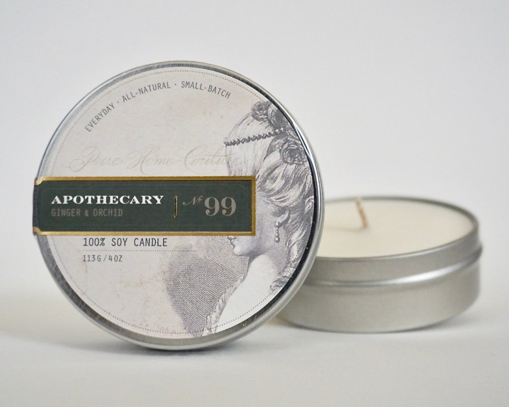 Everyday Tin Candle-Ginger & Orchid No.99