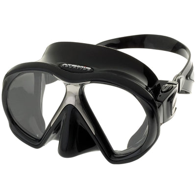 Atomic SubFrame Dive and Snorkel MaskBlack with Black Skirt - Mike's Dive Store - 6