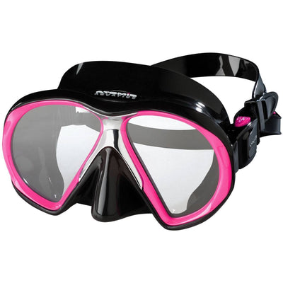 Atomic SubFrame Medium Fit Dive and Snorkel MaskPink with Black Skirt - Mike's Dive Store - 1