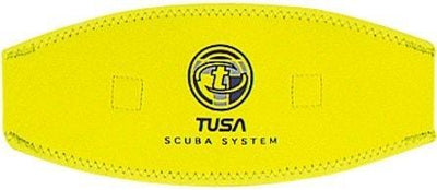 Tusa Mask Strap CoverFluorescent Yellow - Mike's Dive Store - 3