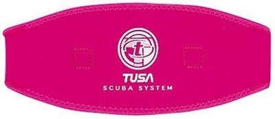 Tusa Mask Strap CoverFluorescent Pink - Mike's Dive Store - 4