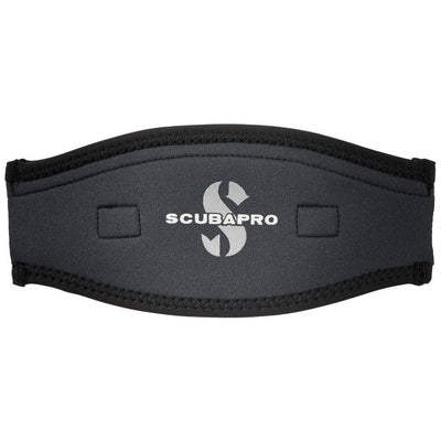 Scubapro Neoprene Mask Strap - Black / Grey - Mike's Dive Store