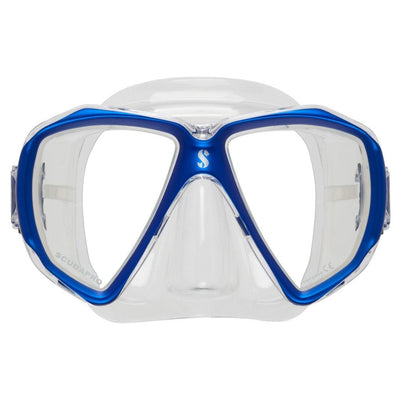 Scubapro Spectra Mask - Blue / Clear Silicone - Mike's Dive Store