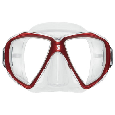 Scubapro Spectra Mask - Red / Clear Silicone - Mike's Dive Store