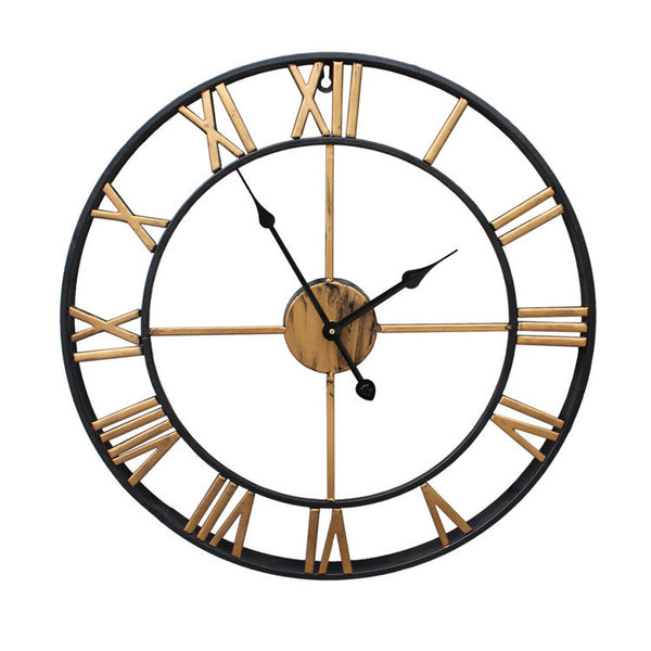 Retro Iron Wall Clock